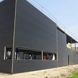 staalbouw kantoor, industriebouw