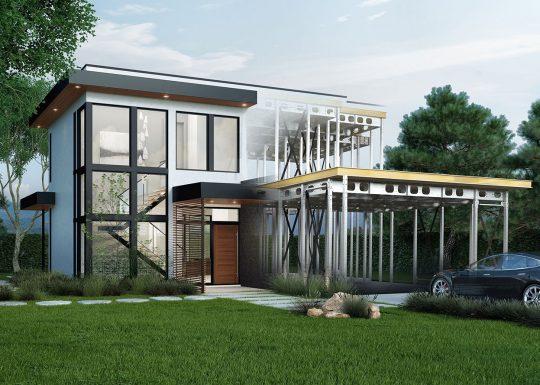 staalbouw, woningbouw