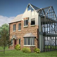 woningbouw met staal